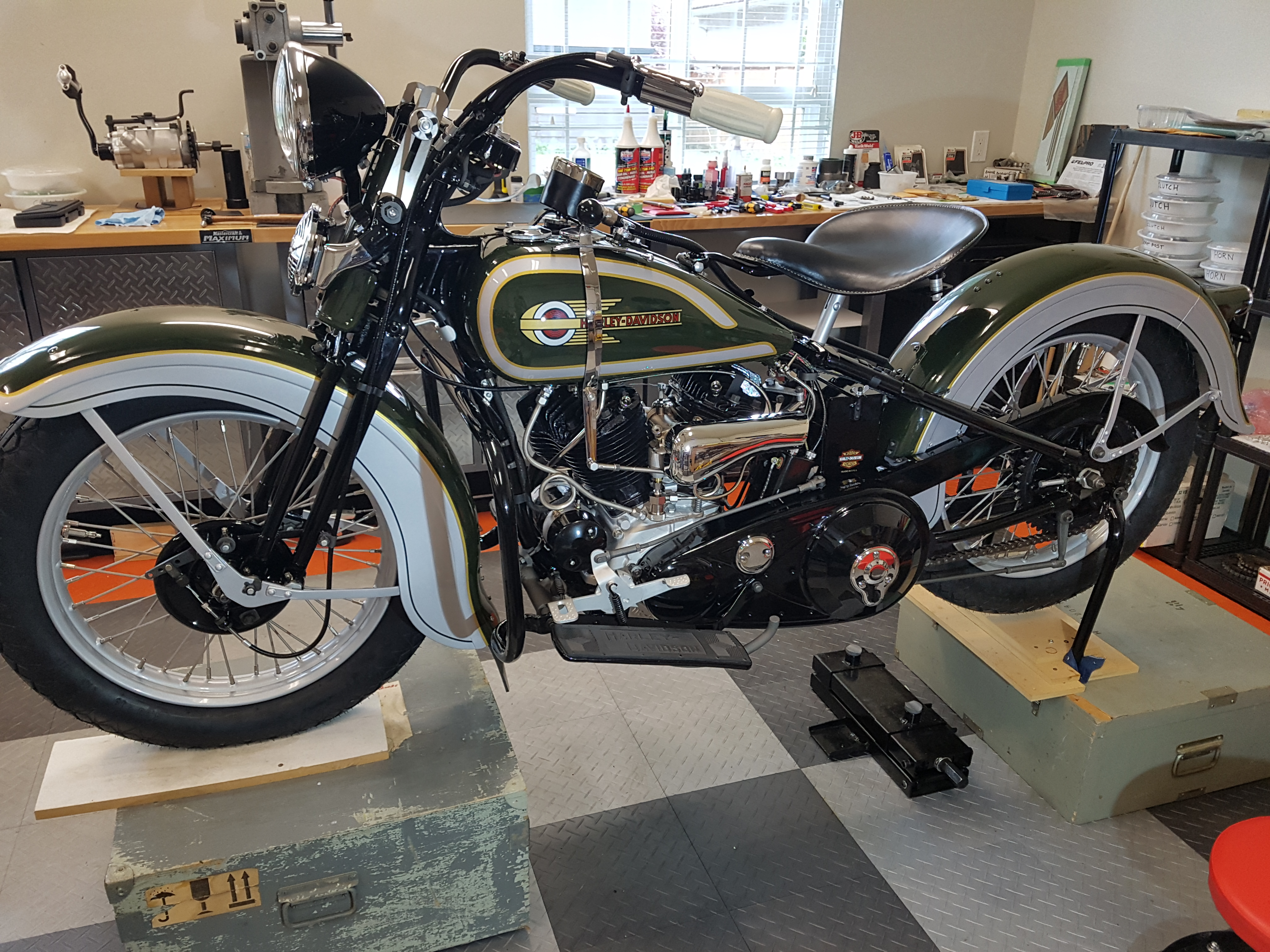 ACL Motorcycle Collection | 1936 Harley Davidson VLH